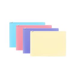 ZIP-пакет пластиковый ErichKrause® Fizzy Pastel, B5 289*214*0,18,  ассорти 50339