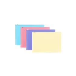 ZIP-пакет пластиковый ErichKrause® Fizzy Pastel, С6,  ассорти 50340