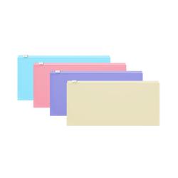 ZIP-пакет пластиковый ErichKrause® Fizzy Pastel, Travel 255*130*0,18,  ассорти 50341