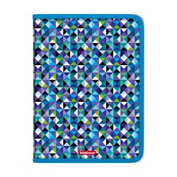 Папка для тетрадей на молнии пластиковая  ErichKrause® Cubes, A4 47102, 50367