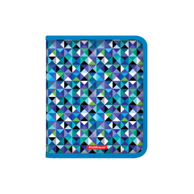 Папка для тетрадей на молнии пластиковая  ErichKrause® Cubes, A5+ 47103, 50368