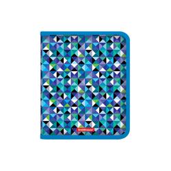 Папка для тетрадей на молнии пластиковая  ErichKrause® Cubes, A5+ 50368