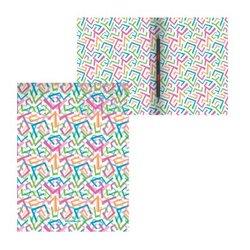 Папка-скоросшиватель пластиковая с пружинным механизмом ErichKrause® Lines, A4 50369