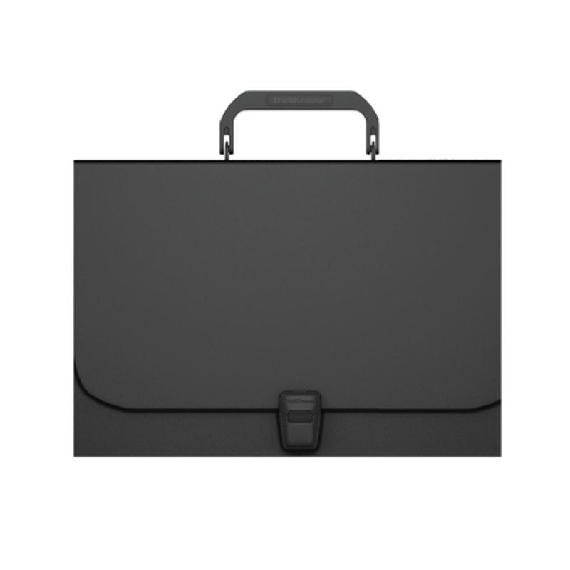 Портфель пластиковый ErichKrause® Matt Classic, A4, черный 50434