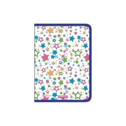 Папка для тетрадей на молнии пластиковая ErichKrause® Neon Stars, A4 (в пакете по 4 шт.) 50490