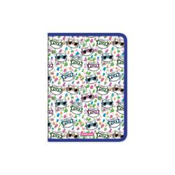 Папка для тетрадей на молнии пластиковая  ErichKrause® Neon Cats, A4 50491