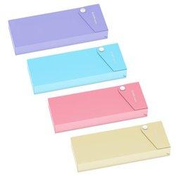Пенал пластиковый ErichKrause® Matt Pastel, ассорти 50496