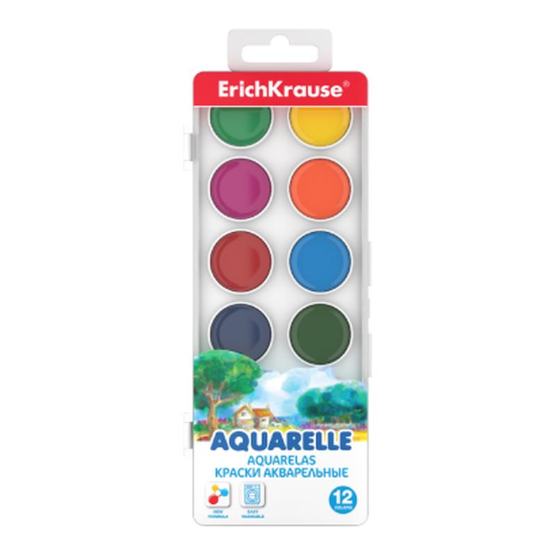 Краски акварельные ErichKrause® 12 цветов 50581
