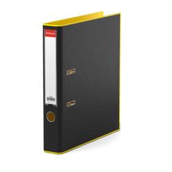 Папка–регистратор с арочным механизмом разборная ErichKrause®, Accent, А4, 50 мм, желтый 51069