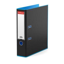 Папка–регистратор с арочным механизмом ErichKrause®, Accent, А4, 70 мм, голубой 51071