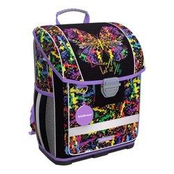 Ученический ранец с пластиковым дном ErichKrause® ErgoLine® 16L Butterfly 51568
