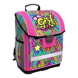 Ученический ранец с пластиковым дном ErichKrause® ErgoLine® 16L Cool Girl 51569