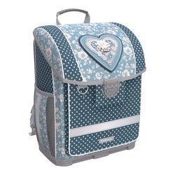 Ученический ранец с пластиковым дном ErichKrause® ErgoLine® 16L Lacey Heart 51571
