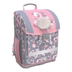 Ученический ранец с пластиковым дном ErichKrause® ErgoLine® 16L Swan Princess 51573