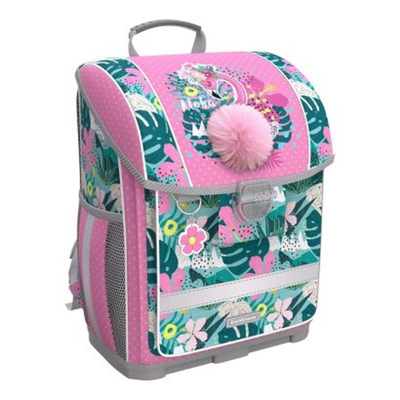 Ученический ранец с пластиковым дном ErichKrause® ErgoLine® 16L Rose Flamingo 51574