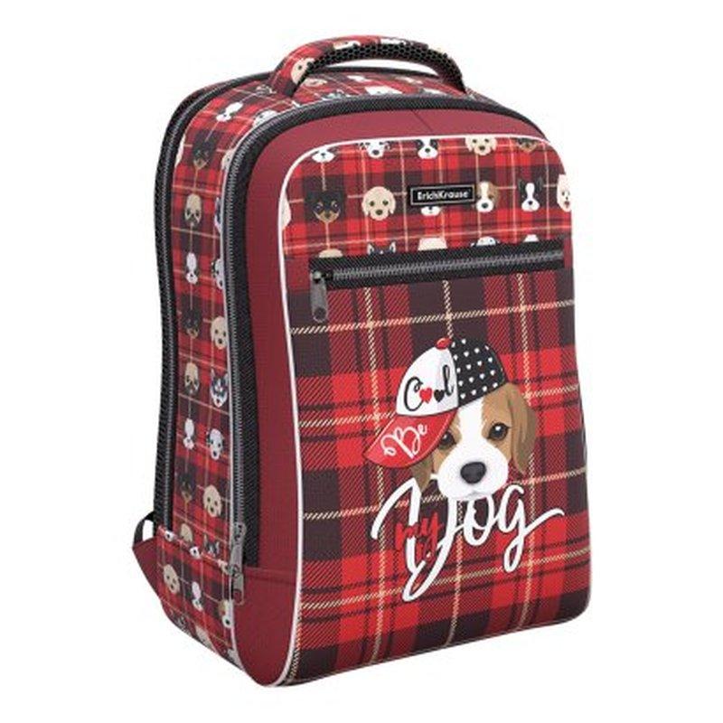 Ученический рюкзак ErichKrause® ErgoLine® Urban 18L Cute Dog 51611