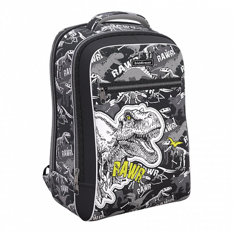 Ученический рюкзак ErichKrause® ErgoLine® Urban 18L Dinosaur Park 51618