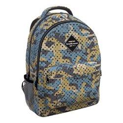 Ученический рюкзак ErichKrause® EasyLine® с двумя отделениями 20L Dots vs Camo 51640