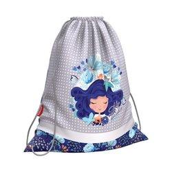 Мешок для обуви ErichKrause® 365x440мм Bluecurl 51837