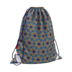 Мешок для обуви ErichKrause® 365x440мм Blue&Orange Beads 52067
