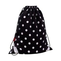 Мешок для обуви ErichKrause® 365x440мм Dots in Black 52073