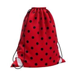 Мешок для обуви ErichKrause® 365x440мм Dots in Red 52074