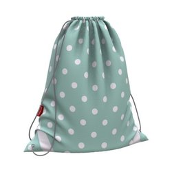 Мешок для обуви ErichKrause® 365x440мм Dots in Mint 52080