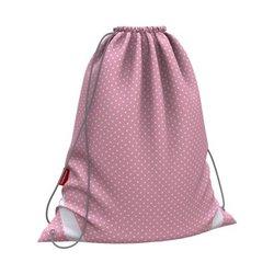 Мешок для обуви ErichKrause® 365x440мм Dots in Rose 52082