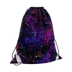 Мешок для обуви ErichKrause® 365x440мм Purple Stardust 52104