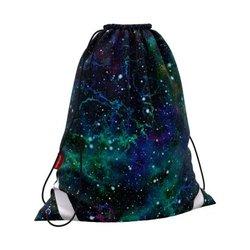 Мешок для обуви ErichKrause® 365x440мм Emerald Stardust 52105