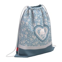Мешок для обуви ErichKrause® с вентиляцией 500х410мм Lacey Heart 52152