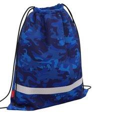 Мешок для обуви ErichKrause® с вентиляцией 500х410мм Sea Camo 52163