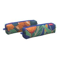 Пенал квадро mini ErichKrause® 210x50x50мм Exotic Flowers 52172