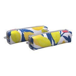 Пенал квадро mini ErichKrause® 210x50x50мм Lemon Tree 52180
