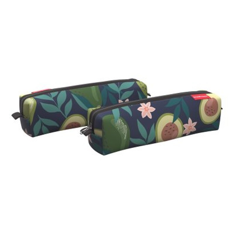 Пенал квадро mini ErichKrause® 210x50x50мм Avocado Dusk 52183