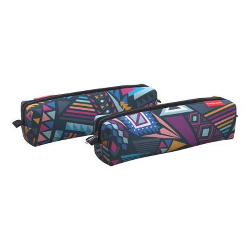 Пенал квадро mini ErichKrause® 210x50x50мм Mexican Trip 52196