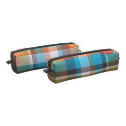Пенал квадро mini ErichKrause® 210x50x50мм Colorado Tartan 52201