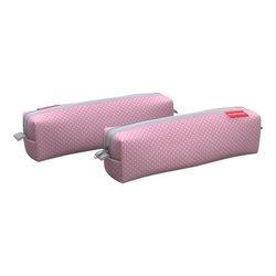 Пенал квадро mini ErichKrause® 210x50x50мм Dots in Rose 52208