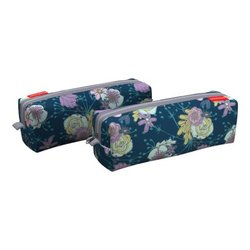Пенал квадро ErichKrause® 210x70x70мм Blossom 52247