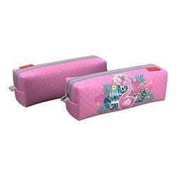 Пенал квадро ErichKrause® 210x70x70мм Rose Flamingo 52254