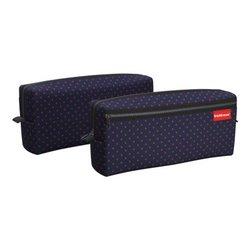 Пенал квадро с двумя отделениями ErichKrause® 210x100x50мм Dots in Blue 52289