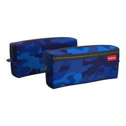 Пенал квадро с двумя отделениями ErichKrause® 210x100x50мм Sea Camo 52303