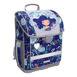 Ученический ранец с пластиковым дном ErichKrause® ErgoLine® 16L Bluecurl 52573