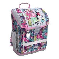 Ученический ранец с пластиковым дном ErichKrause® ErgoLine® 16L Bird Story 52574