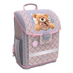 Ученический ранец с пластиковым дном ErichKrause® ErgoLine® 16L Teddy Bear 52576