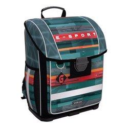 Ученический ранец с пластиковым дном ErichKrause® ErgoLine® 16L Cybersport 52582