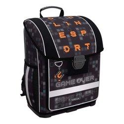 Ученический ранец с пластиковым дном ErichKrause® ErgoLine® 16L Game Over 52583