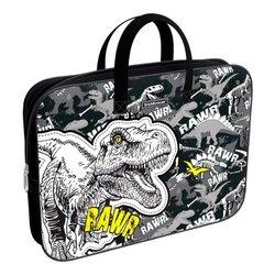 Папка текстильная на молнии ErichKrause® с ручками Dinosaur Park, A4+ 52657