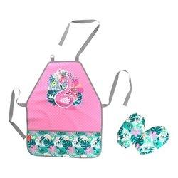 Фартук с нарукавниками ErichKrause® Rose Flamingo 52712