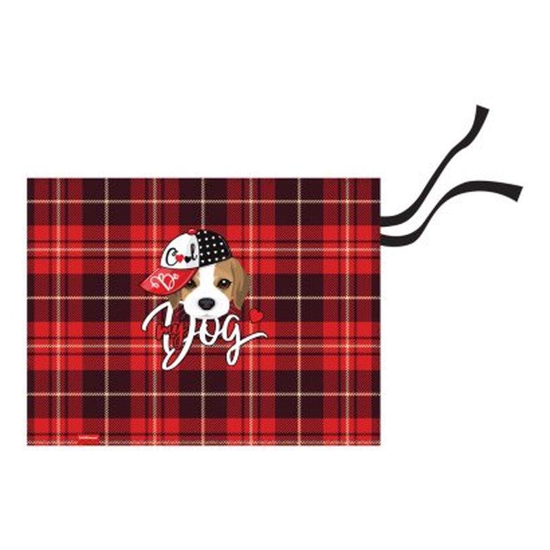 Подкладка настольная текстильная ErichKrause® Cute Dog, A3+ 52729